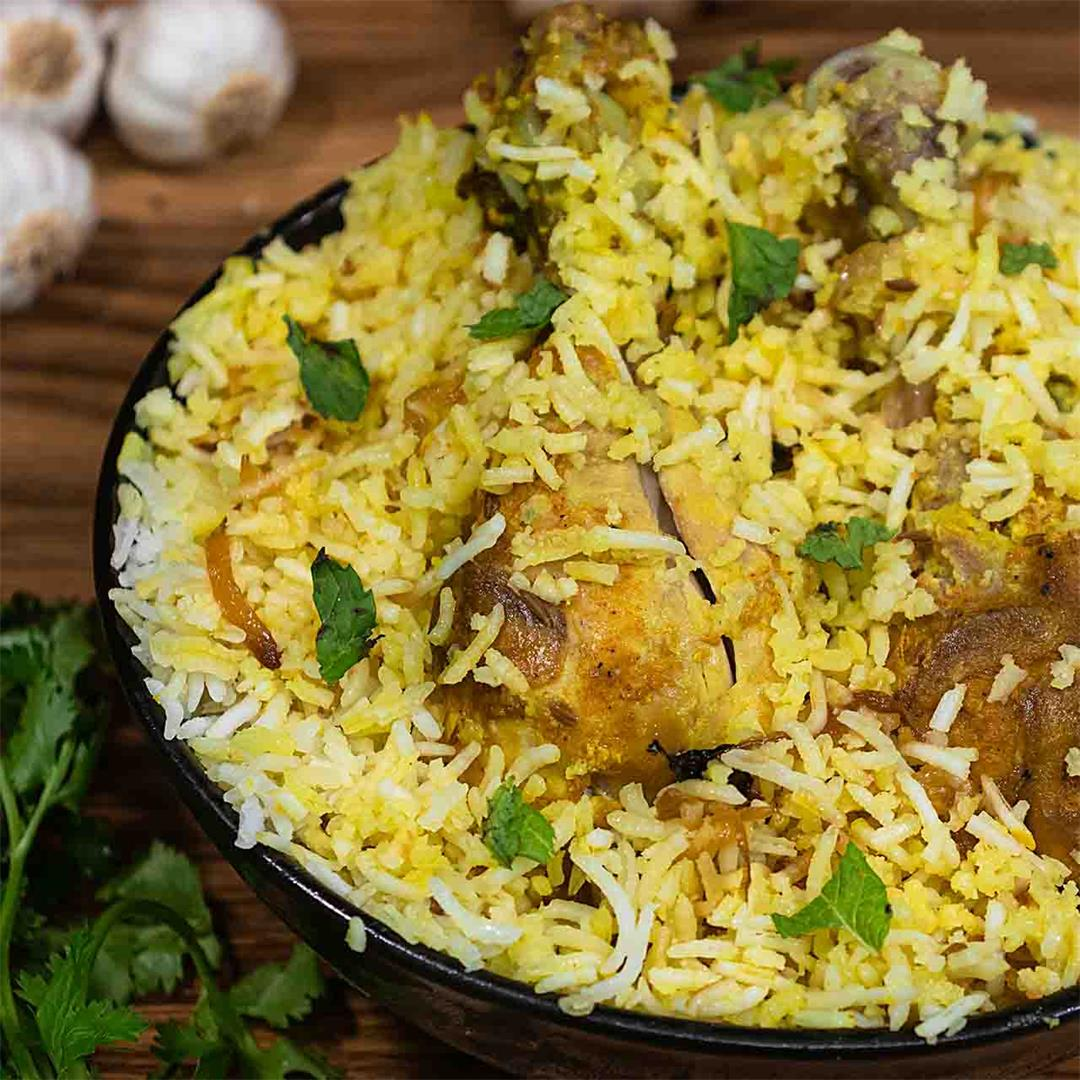 Have you ever tried this famous Hyderabadi Biryani ?