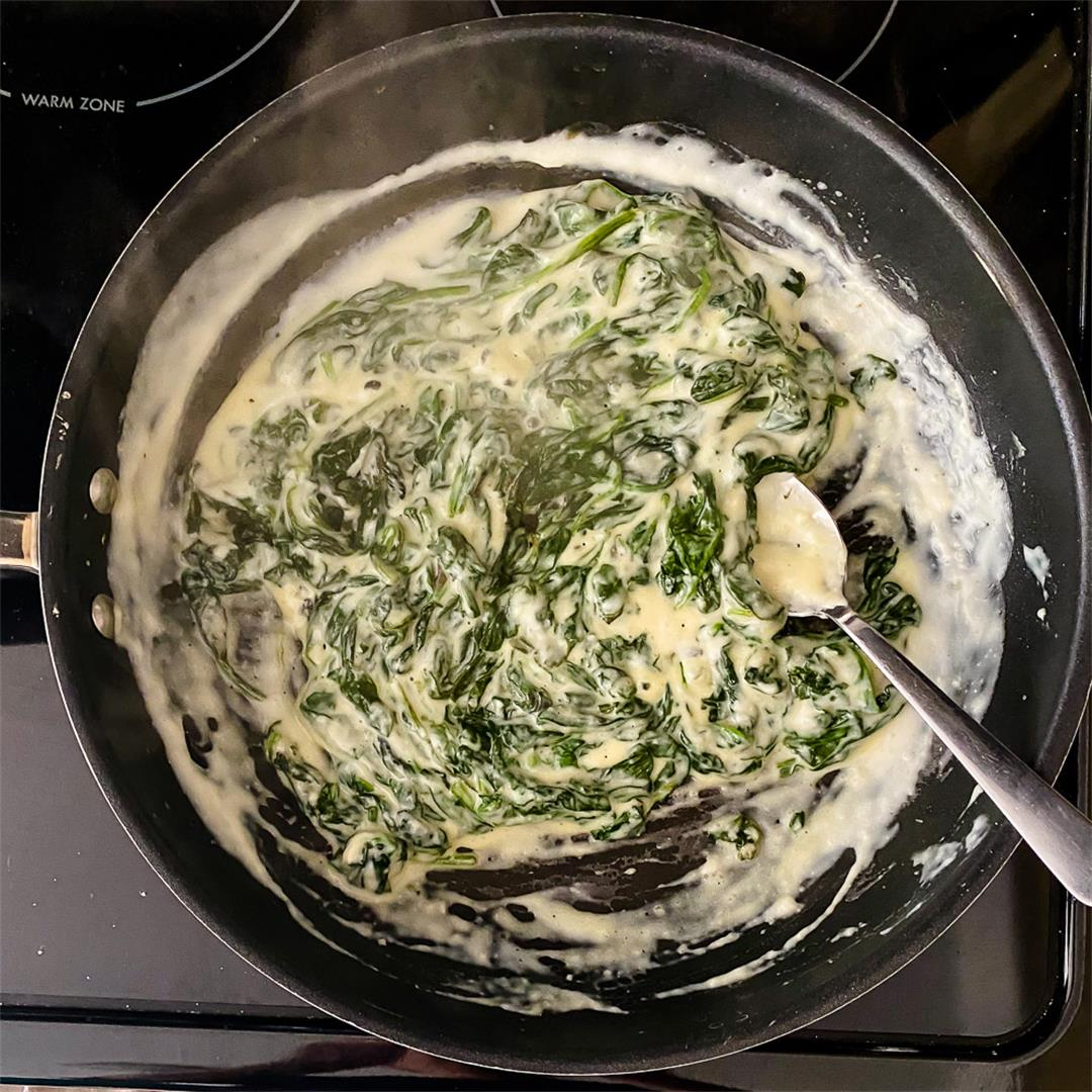 My NEW Ultimate Creamed Spinach