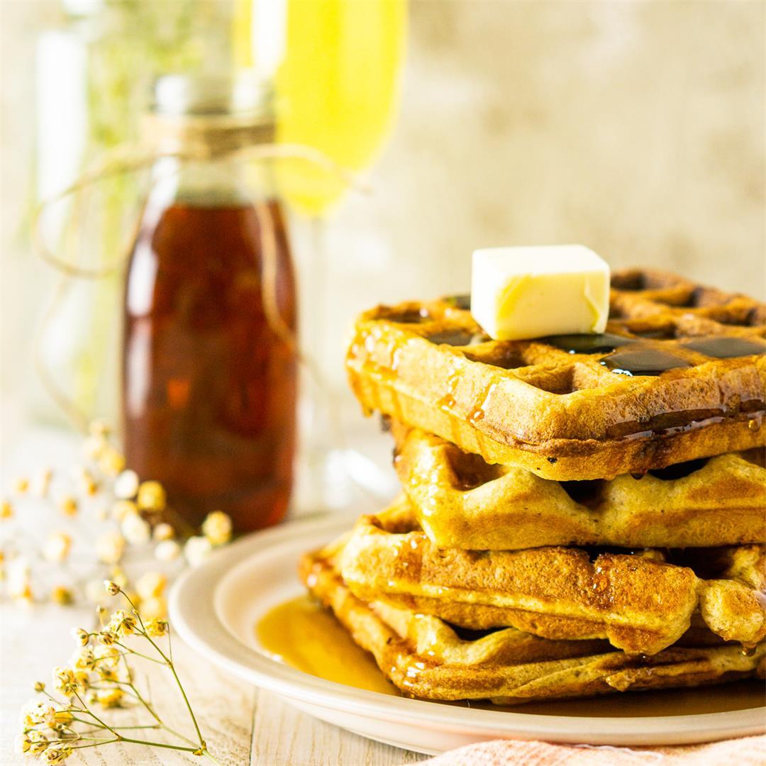 Perfect Buttermilk Waffles