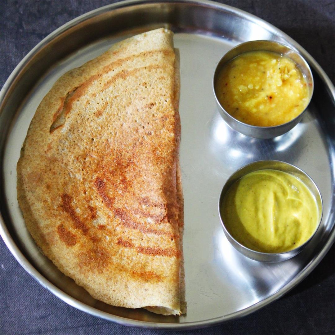 Adai Dosa | Lentil Pancakes