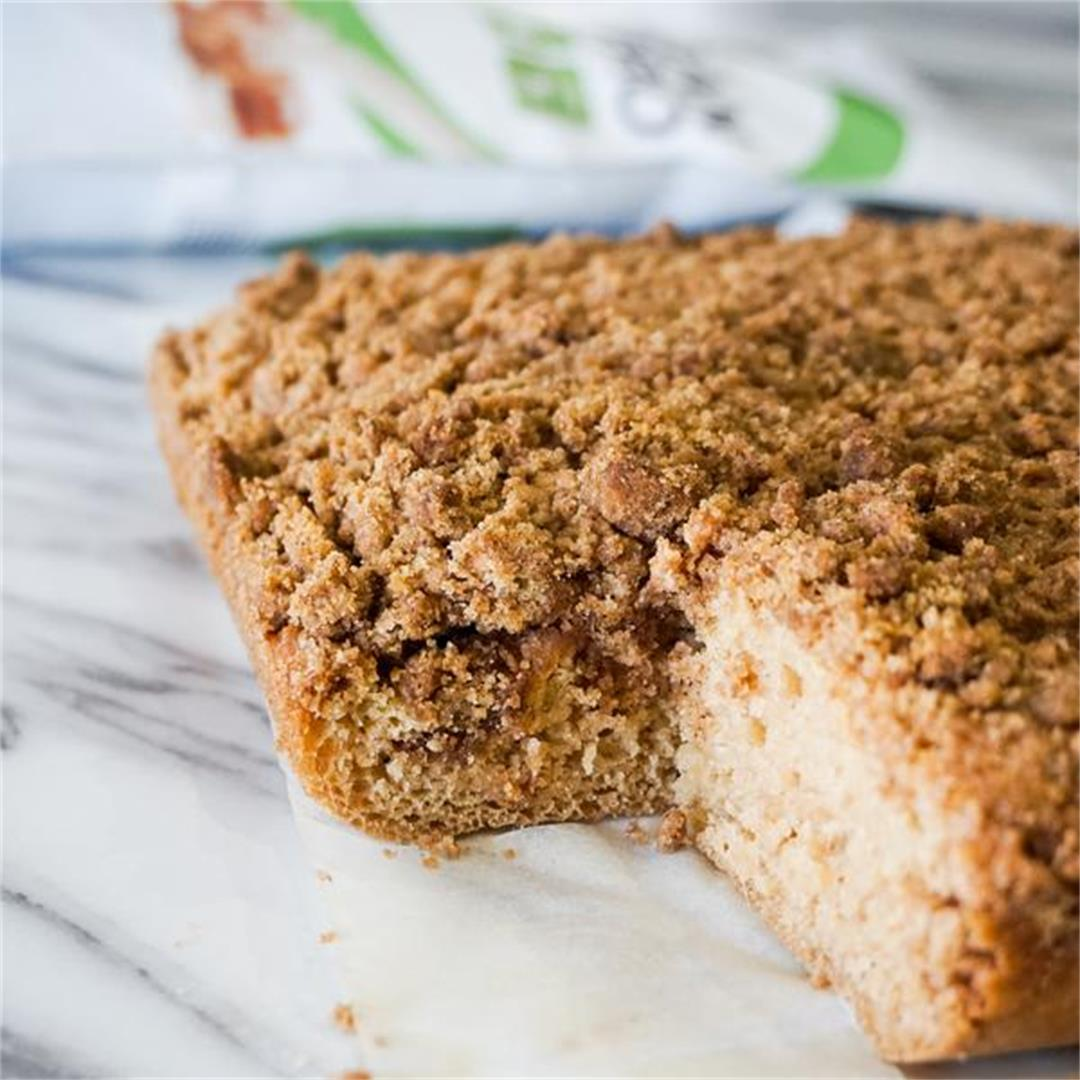 Coffee Cake (Cinnamon streusel cake)