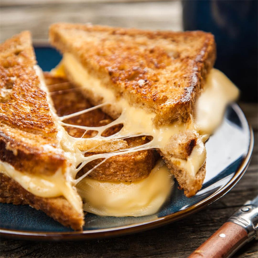 Grilled Cheese Recipe (5 Tips for the Best Grilled Cheese)