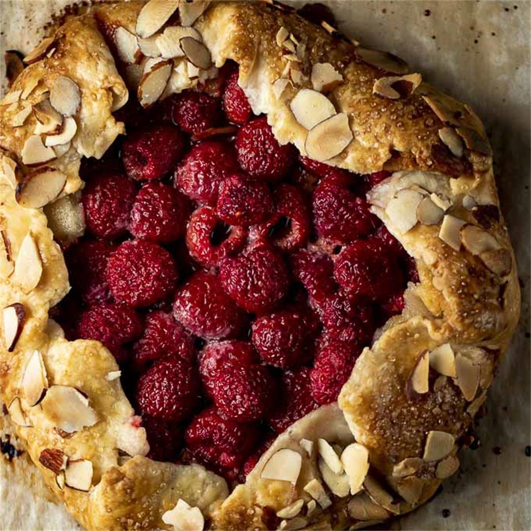 Rustic Raspberry Galette Recipe
