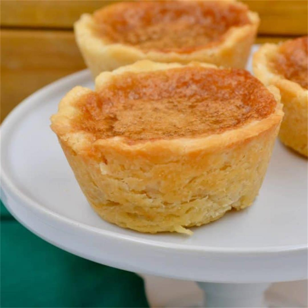 Mom's Old Fashioned Butter Tarts