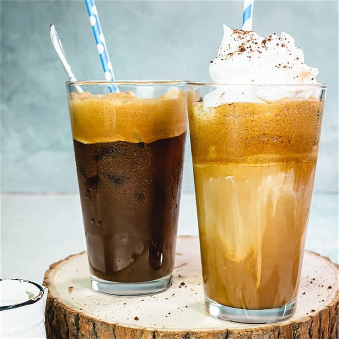 How To Make A Classic Greek Frappe [VIDEO]