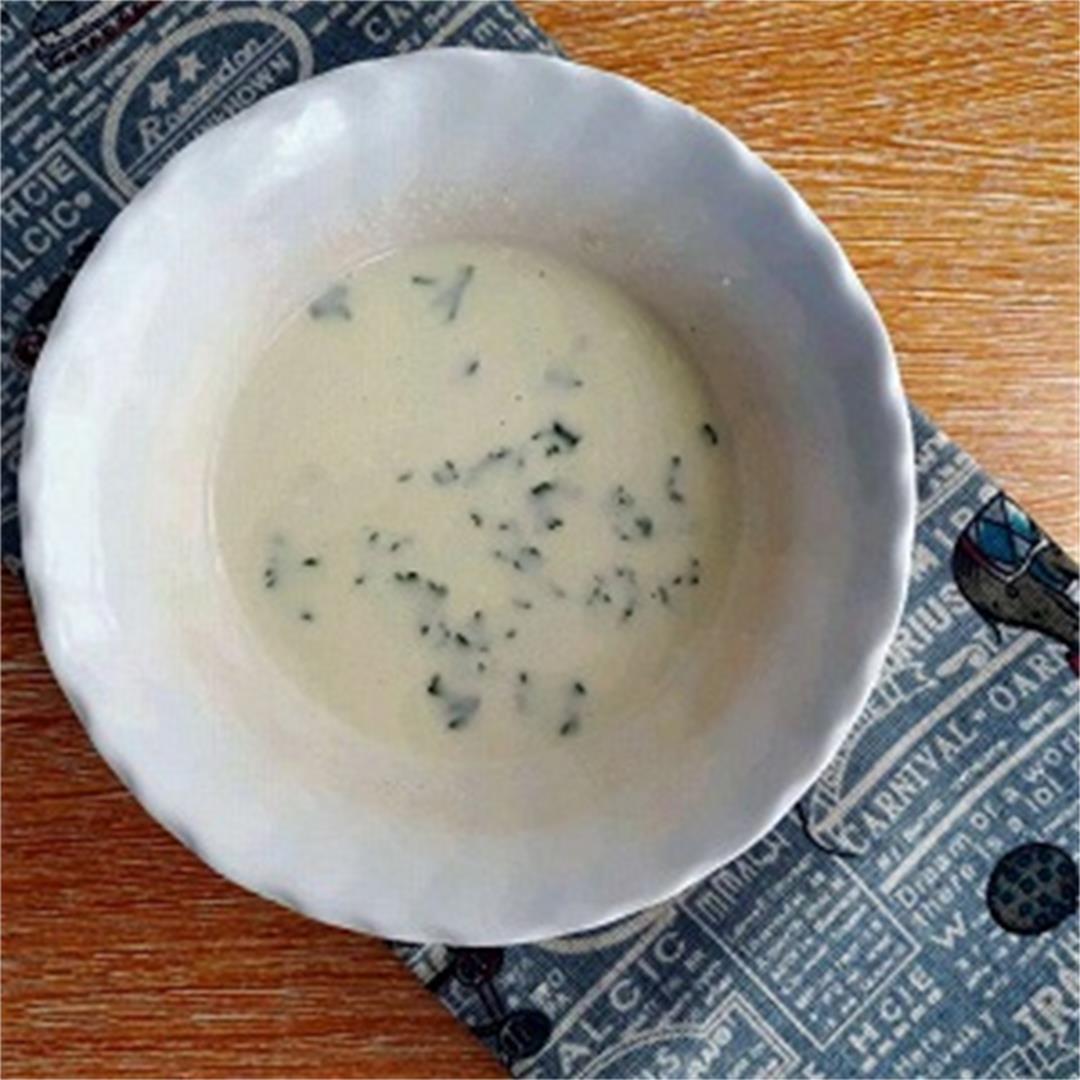 Homemade Garlic Yogurt Sauce