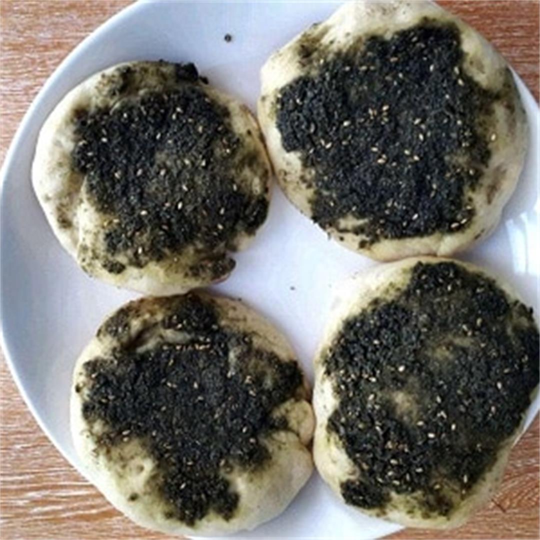 Zaatar Bread (Zaatar Manakish)