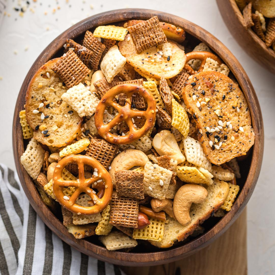 Everything Bagel Chex Mix