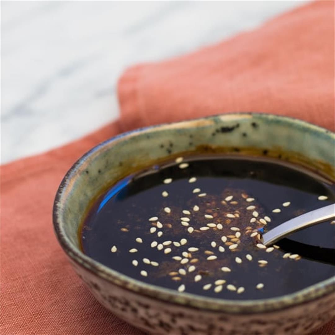 Easy 3 Ingredient Teriyaki Sauce