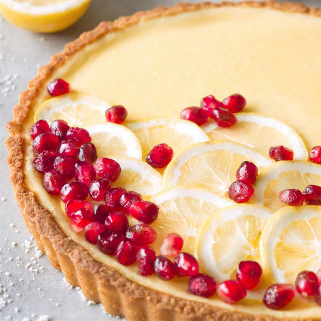 Gluten-free vanilla custard tart recipe
