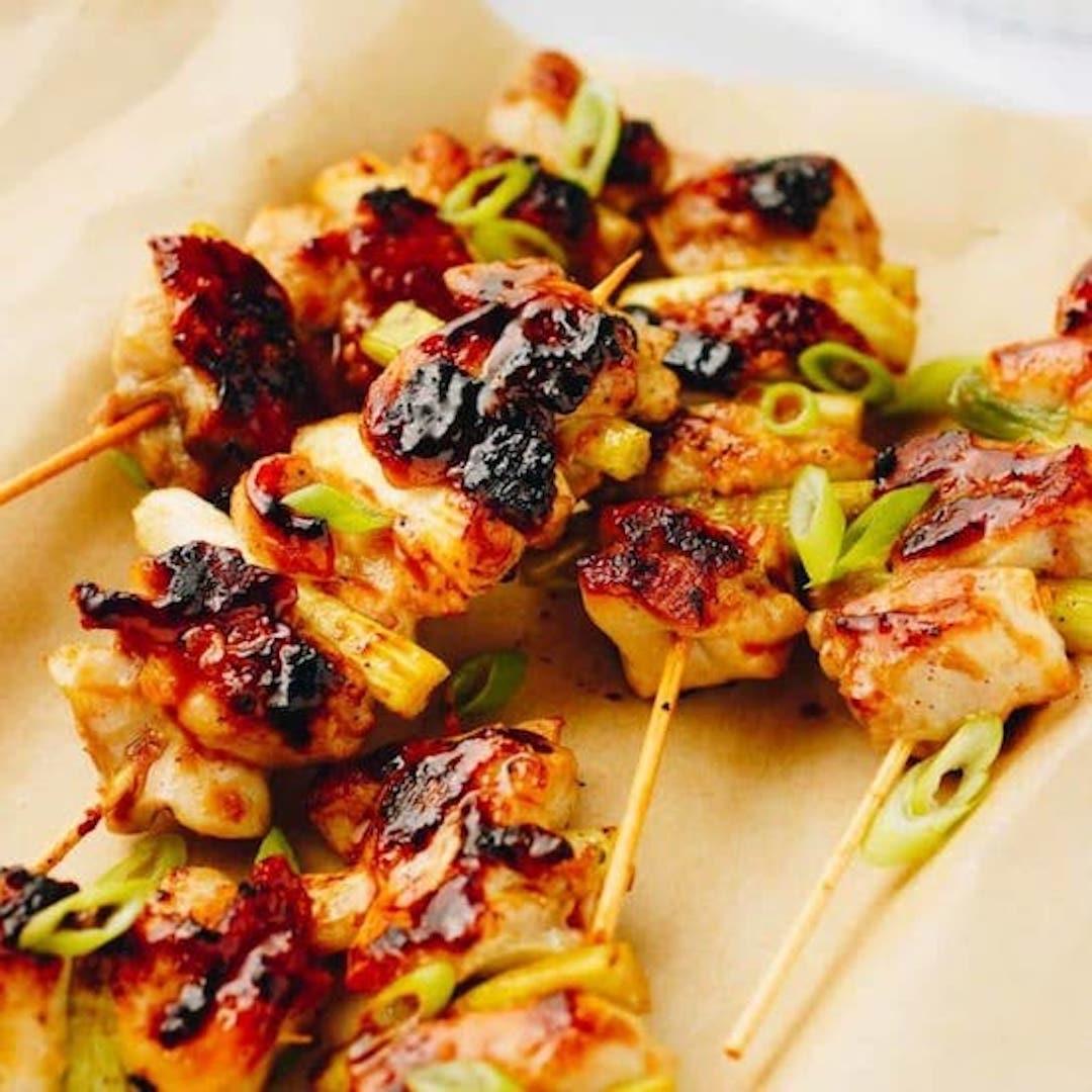 Chicken Yakitori BBQ Skewers