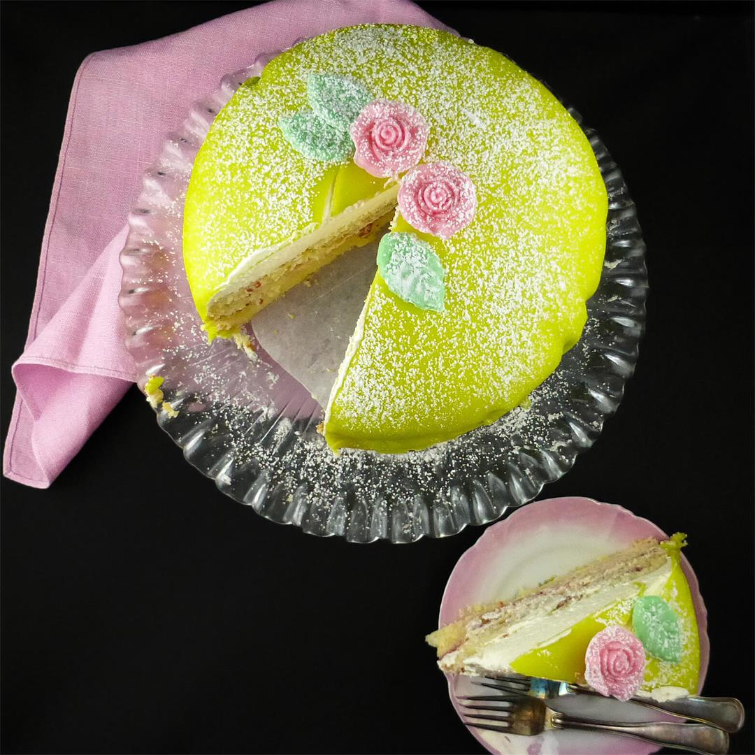 Swedish Princess Cake (Princesstårta)
