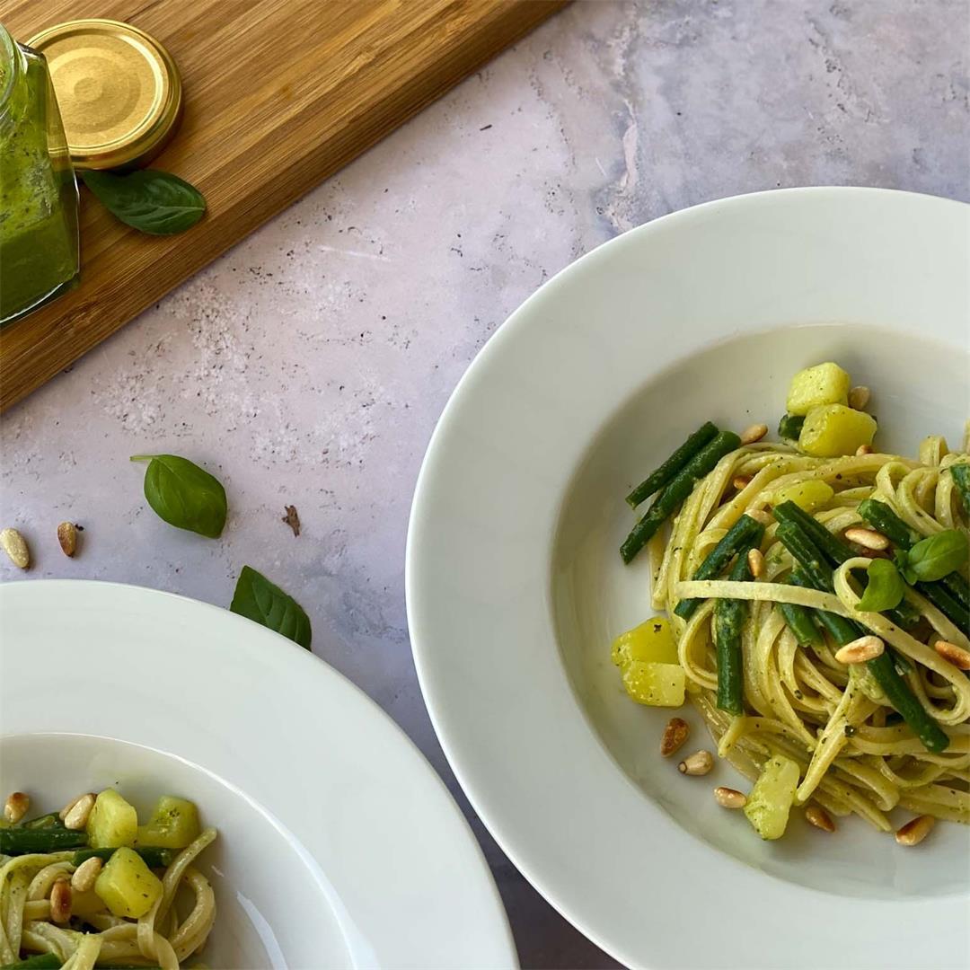 Pasta with Homemade Pesto