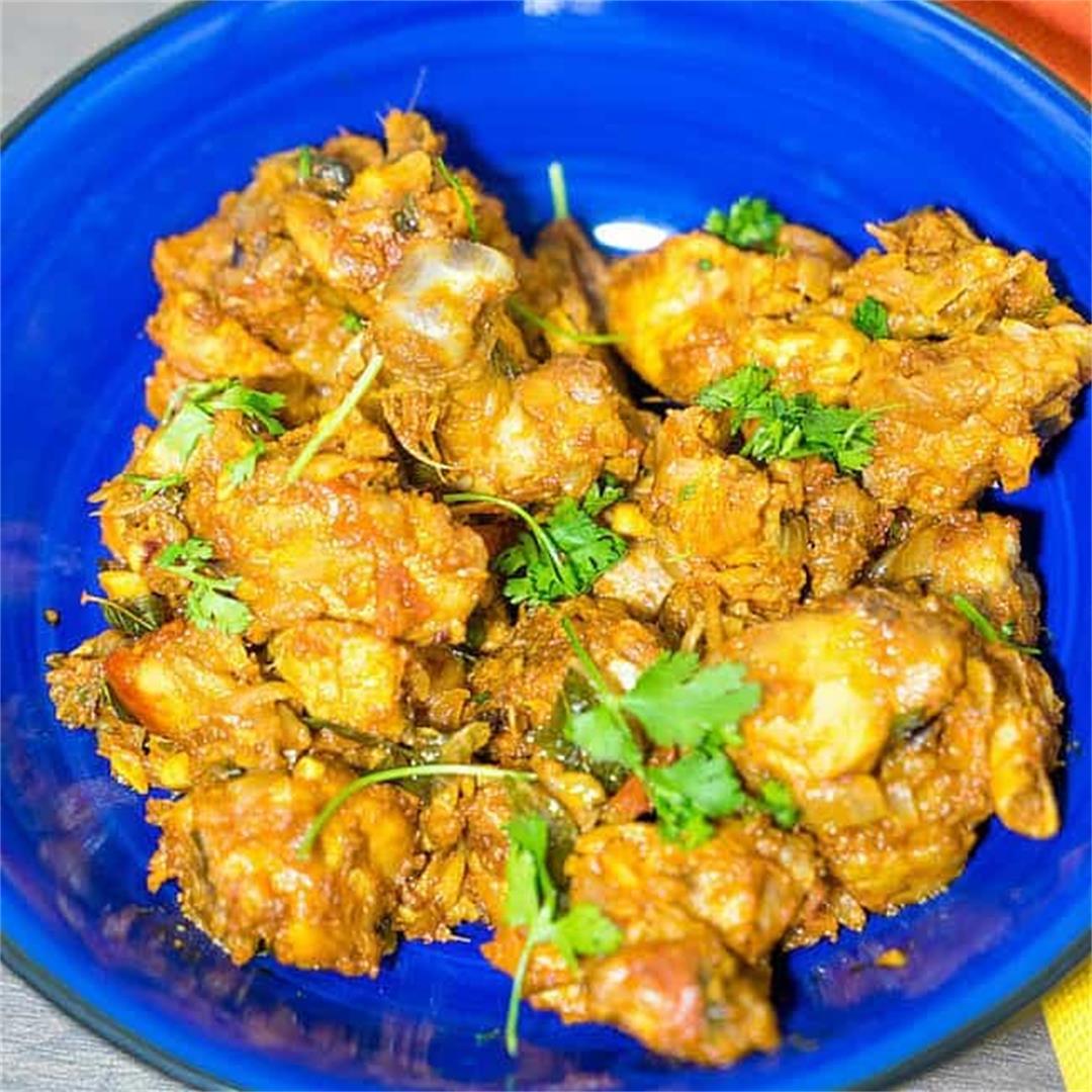 Kerala Chicken Varuval