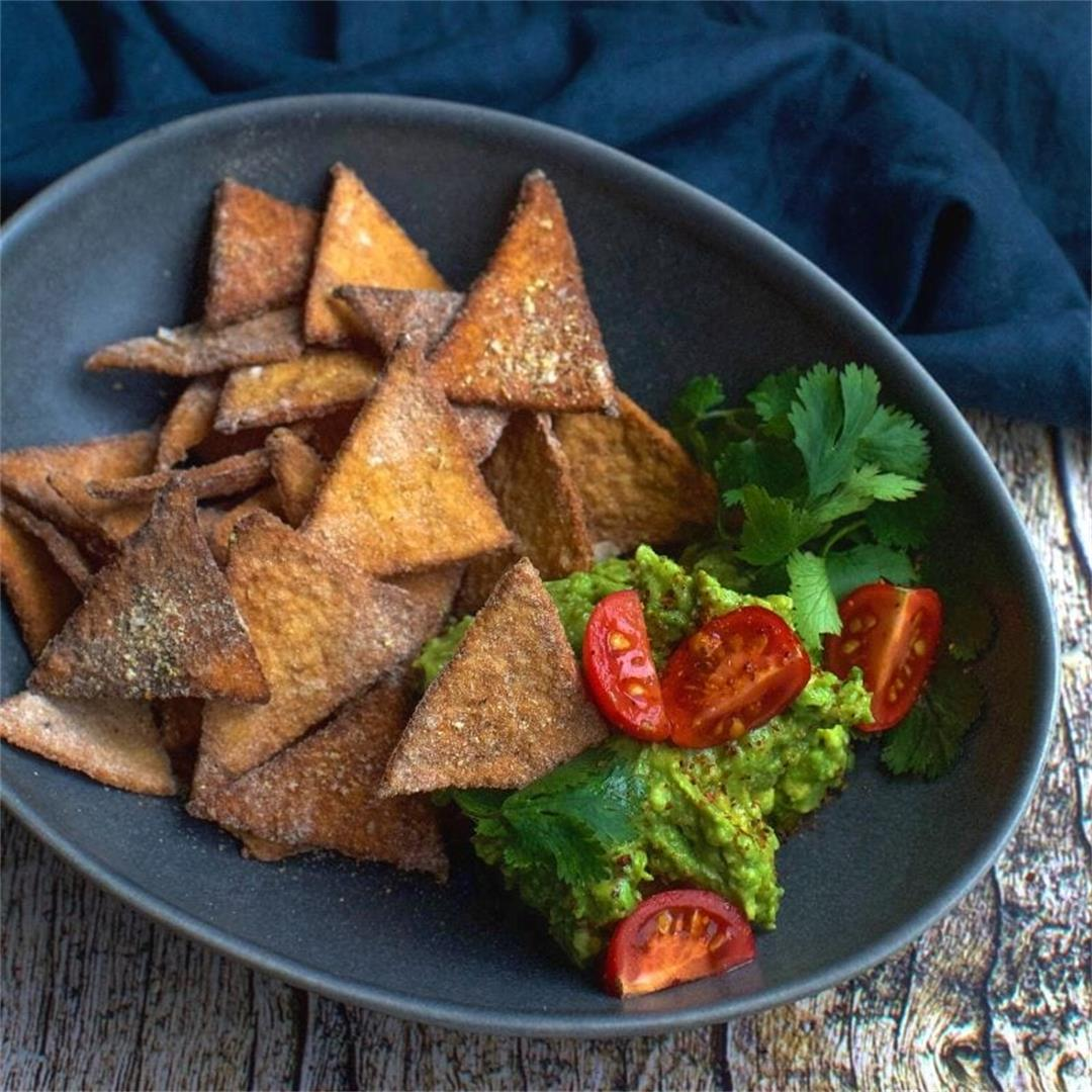 Easy Keto Tortilla Chips
