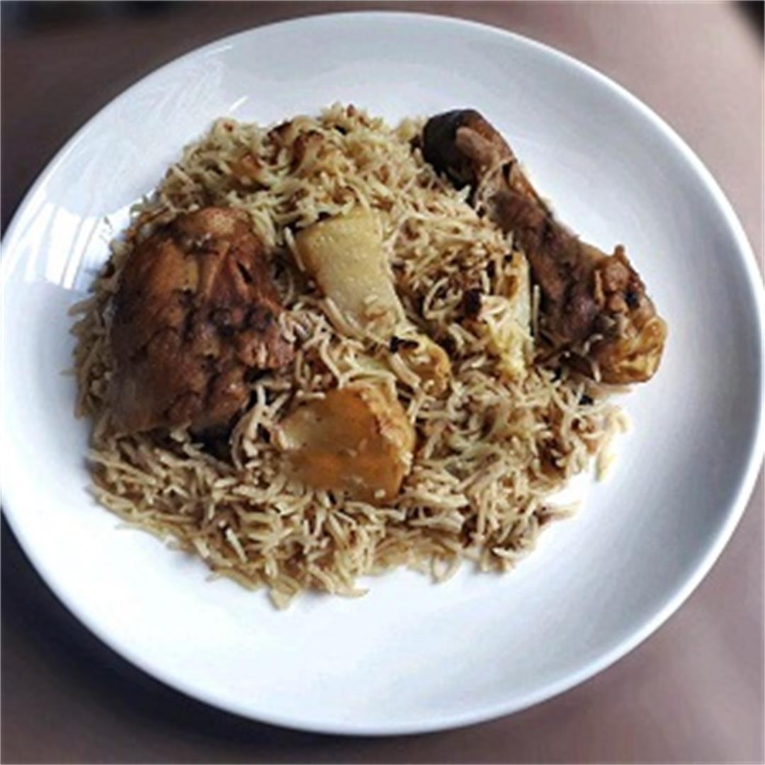 Chicken Maqluba Recipe