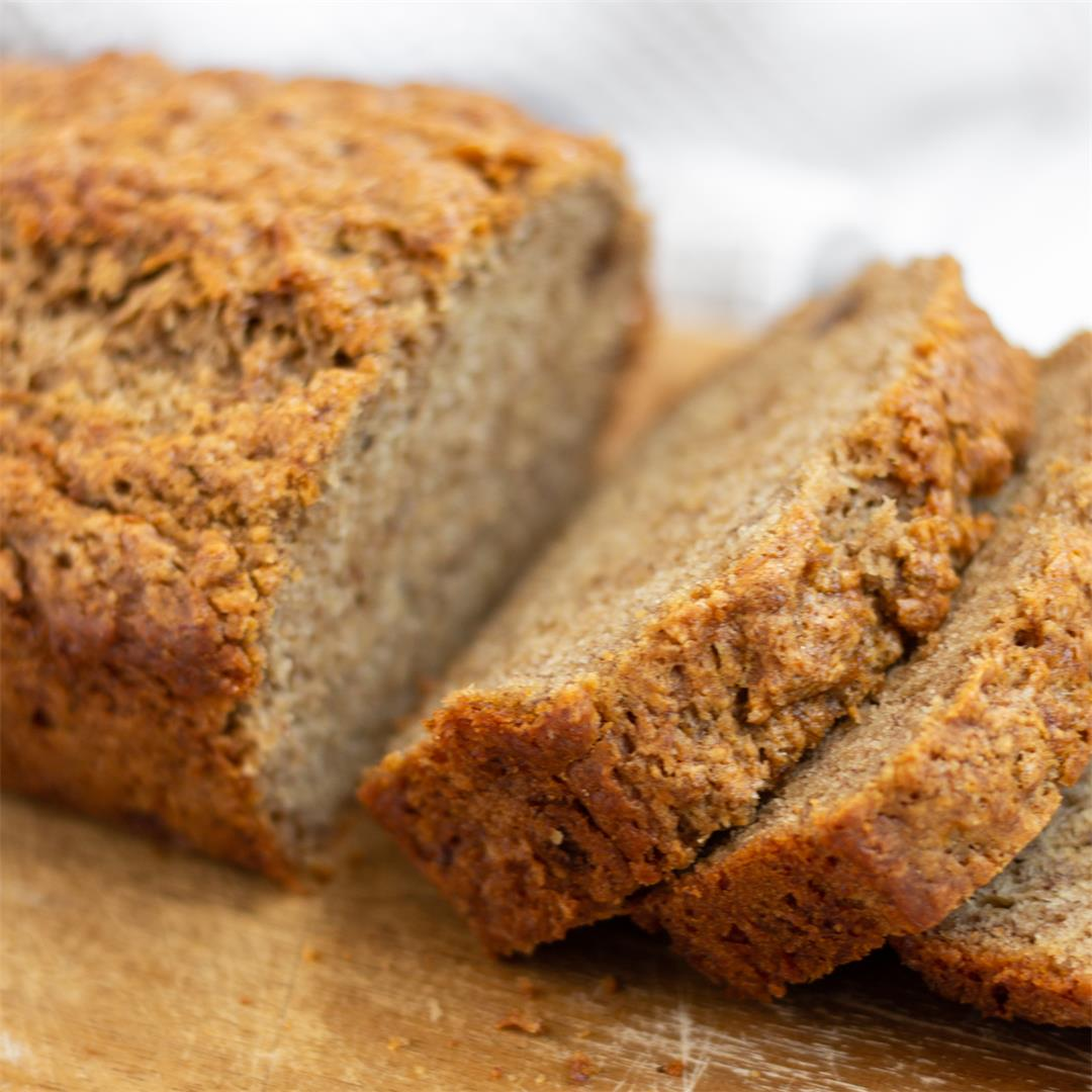 Banana Bread (High Altitude Option)
