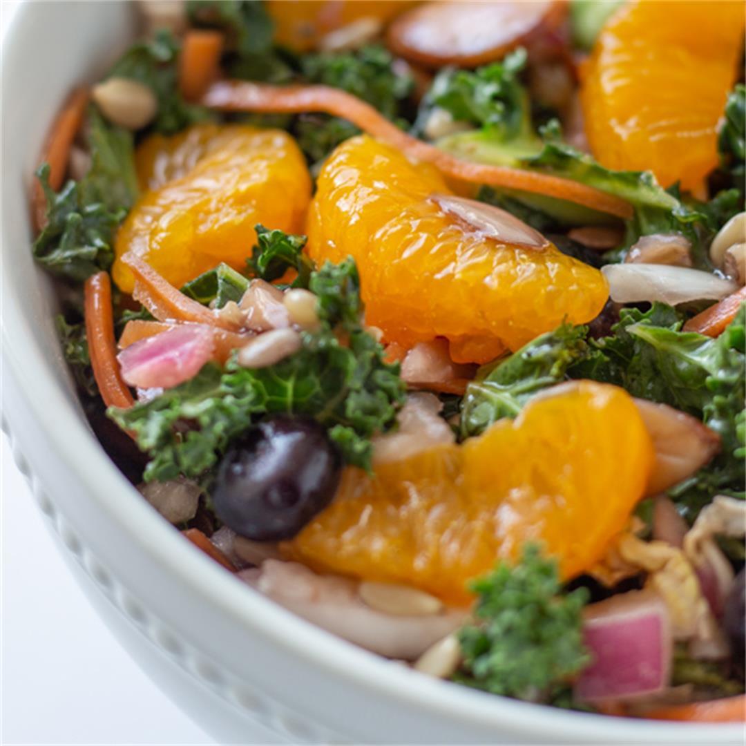 Mandarin Orange Kale Salad