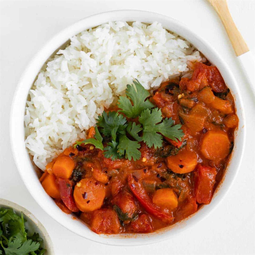 Vegan Thai Red Curry