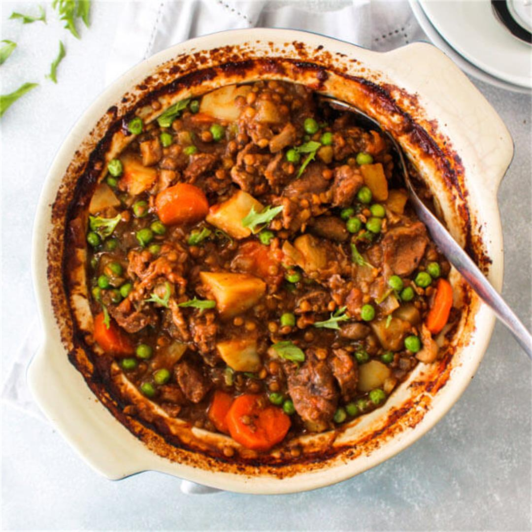 Crock Pot Beef And Lentil Stew