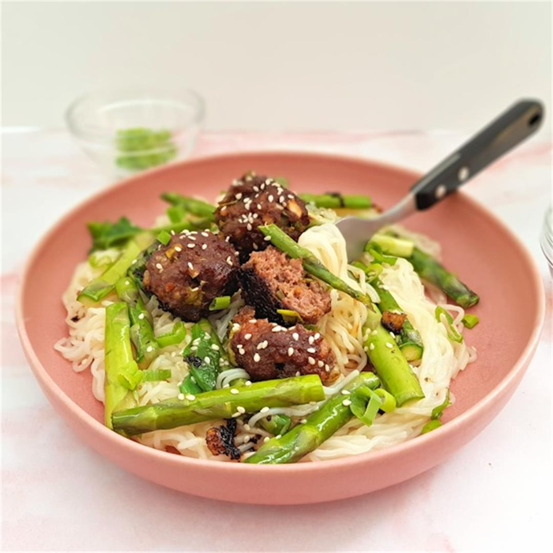 baked meatballs korean barbecue style