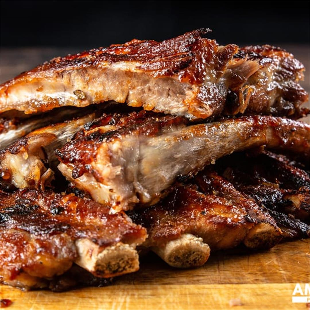 Instant Pot BBQ Spare Ribs (Tender & Juicy)