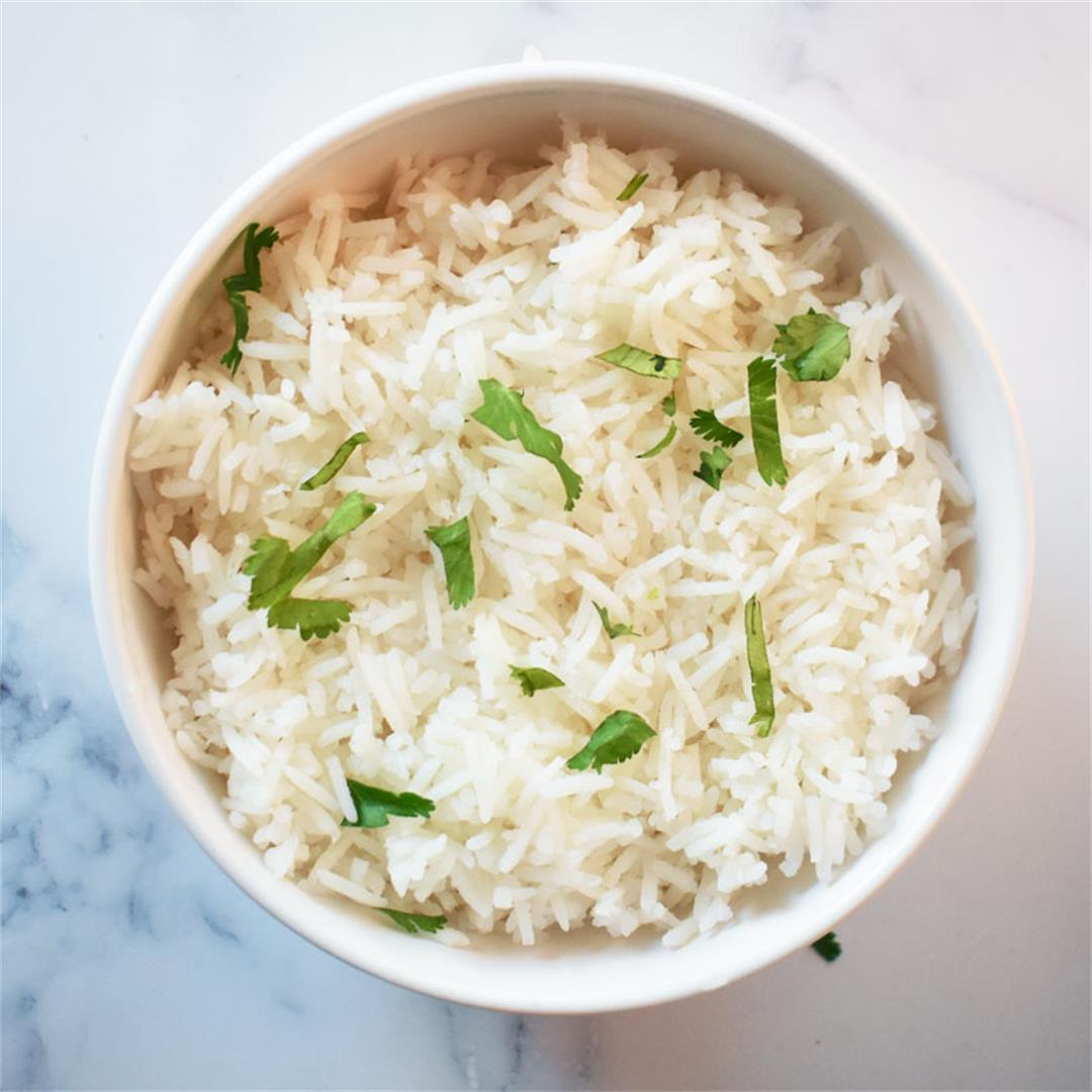 How to cook perfect White rice on stove top