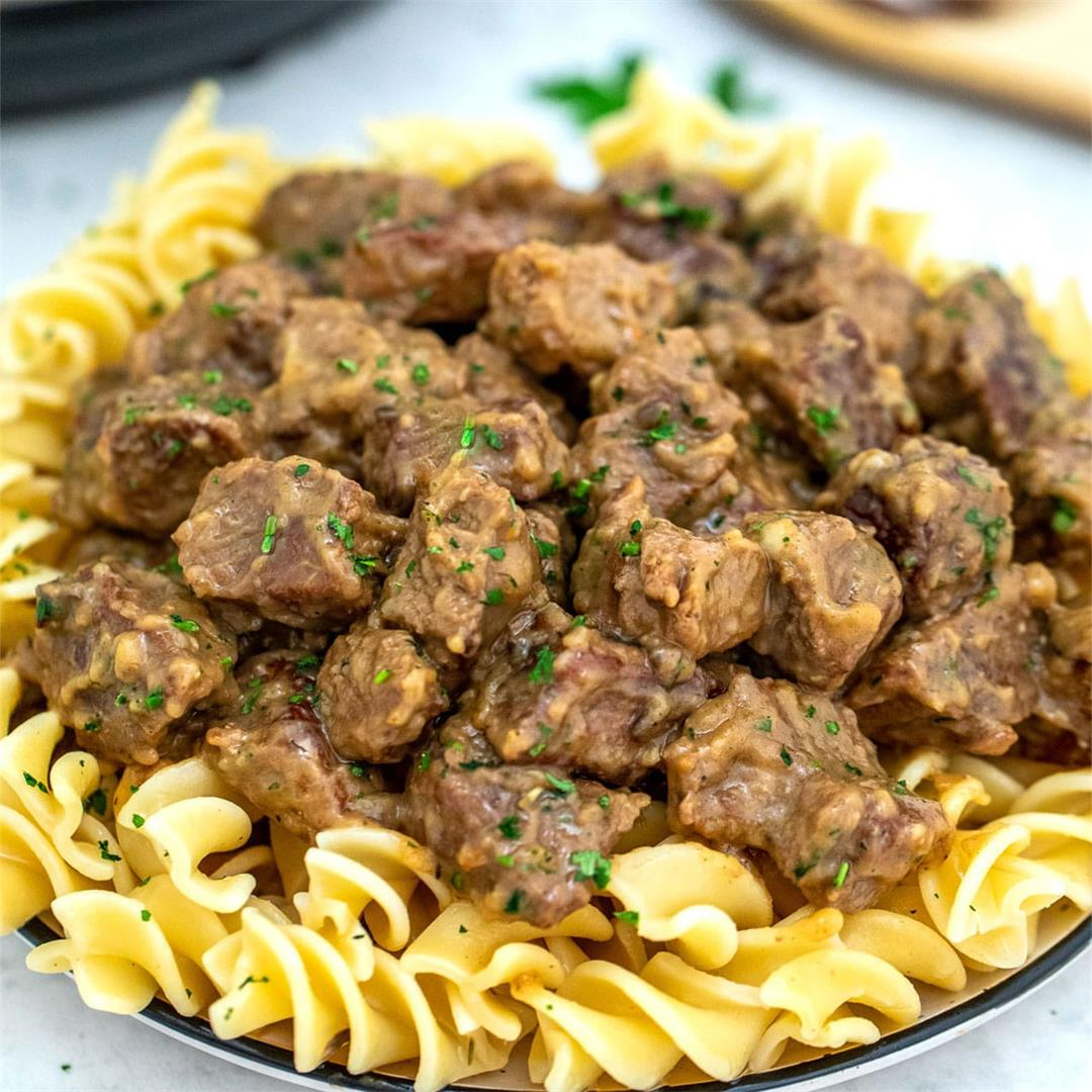 Instant Pot Beef Tips and Gravy