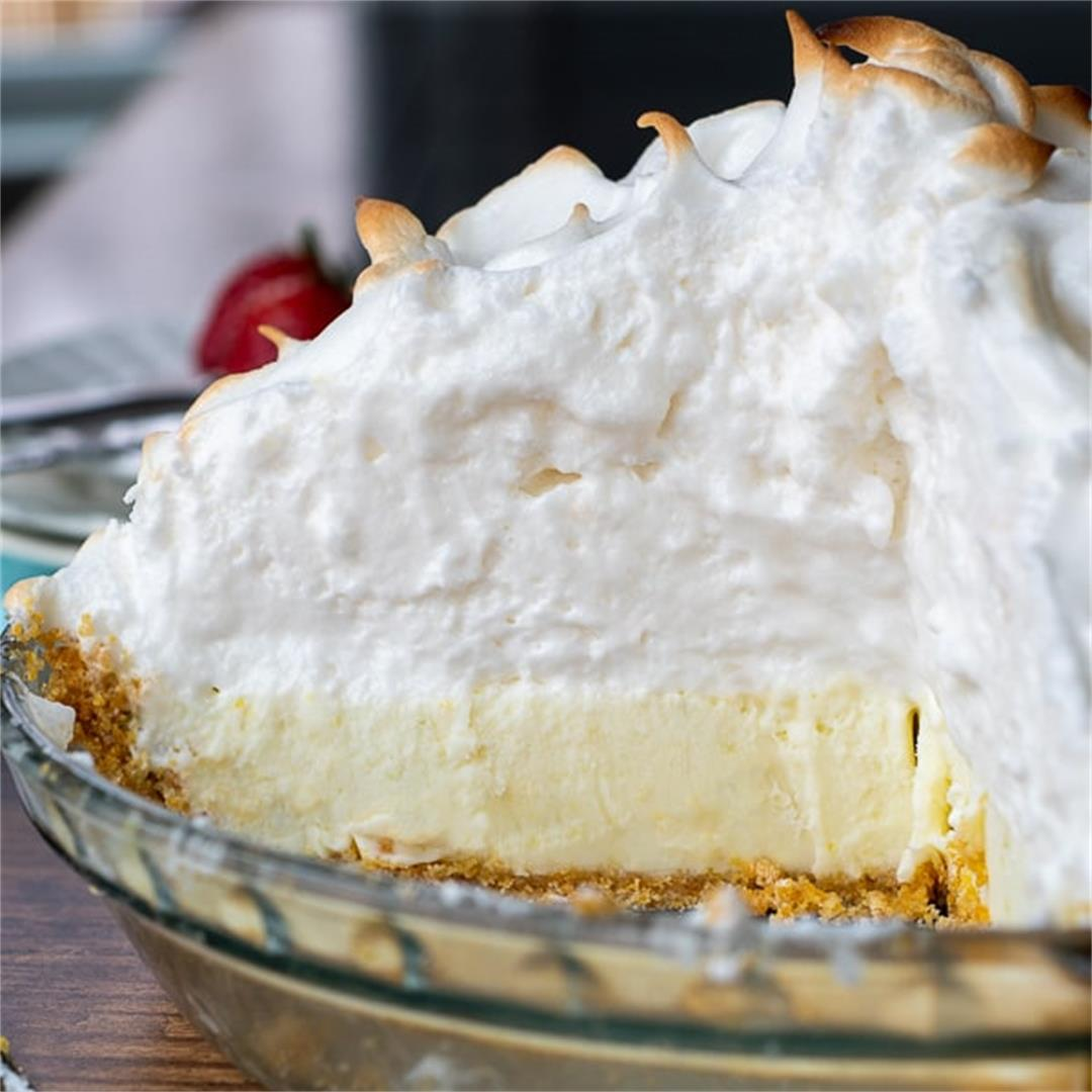 Creamy Frozen Lemon Pie