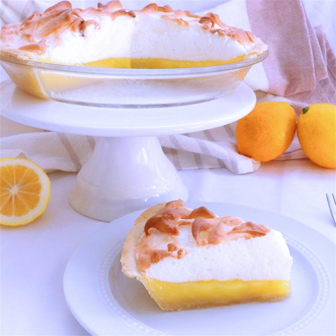Lemon Meringue Pie - Meals by Molly