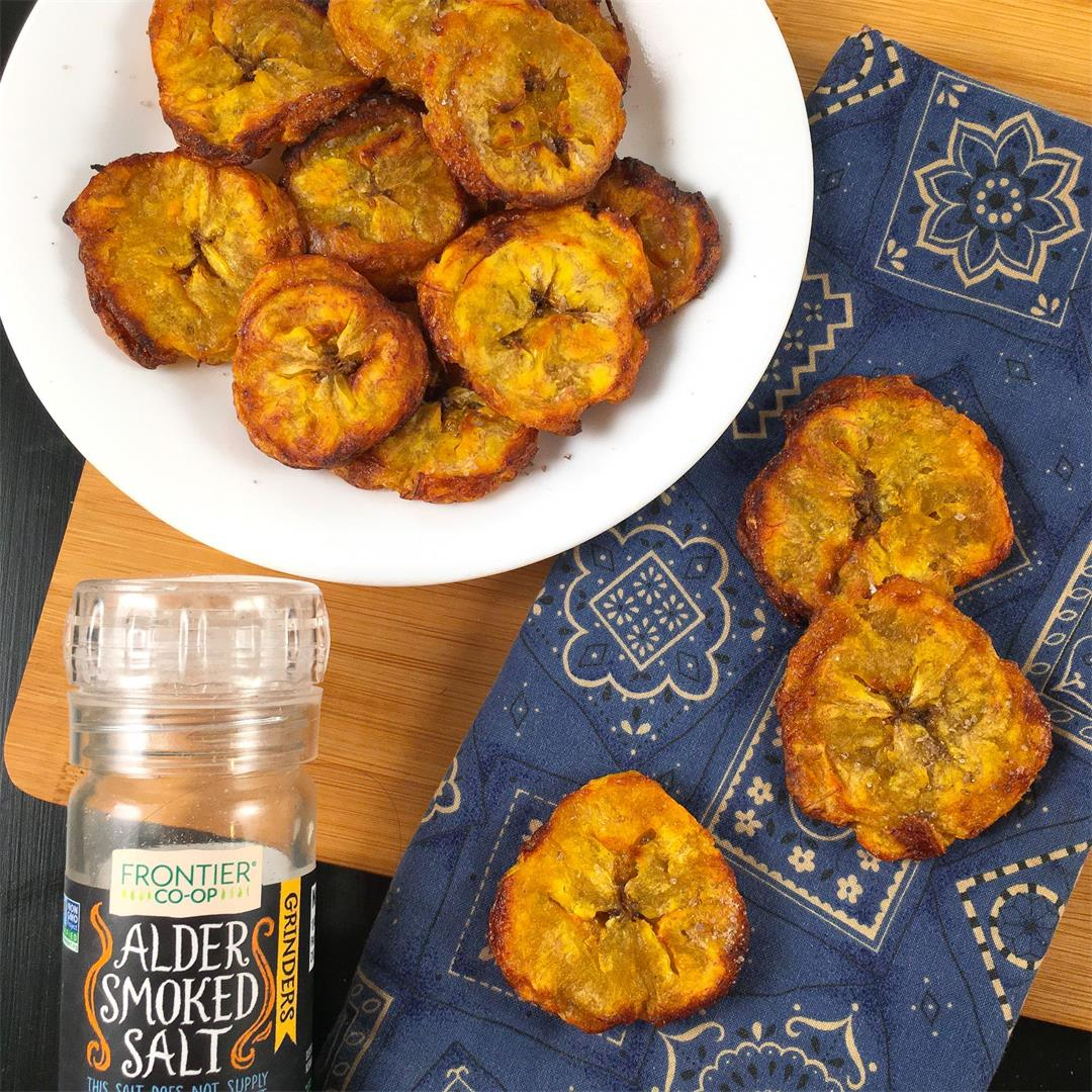 Air Fryer Maduros That Are Cooked Like Tostones
