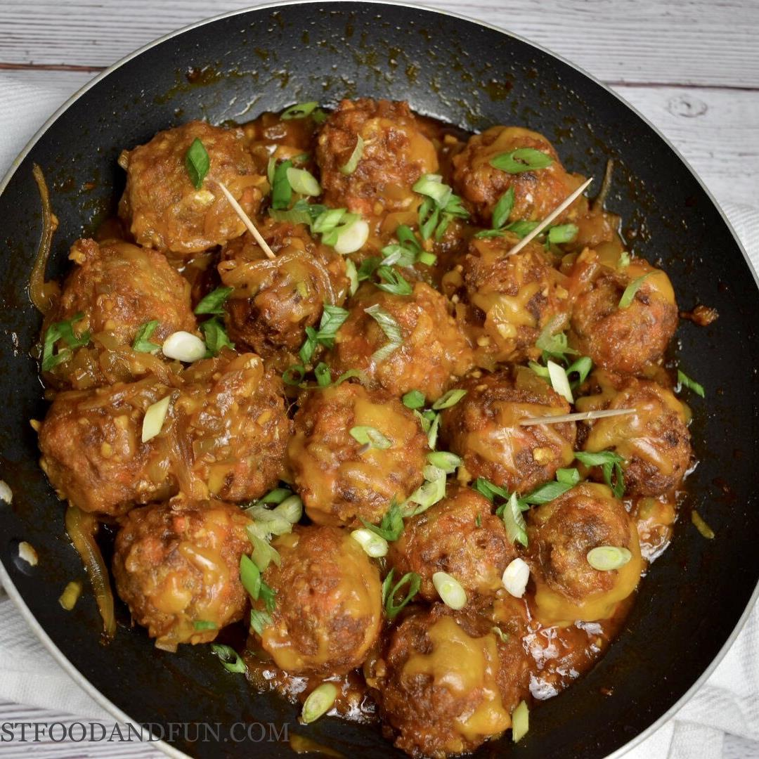 Cabbage Ground Beef Manchurian