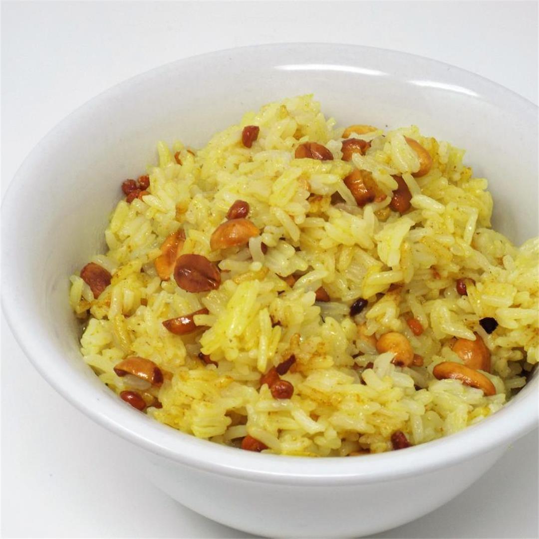 Chitranna Rice (Lemon Rice)