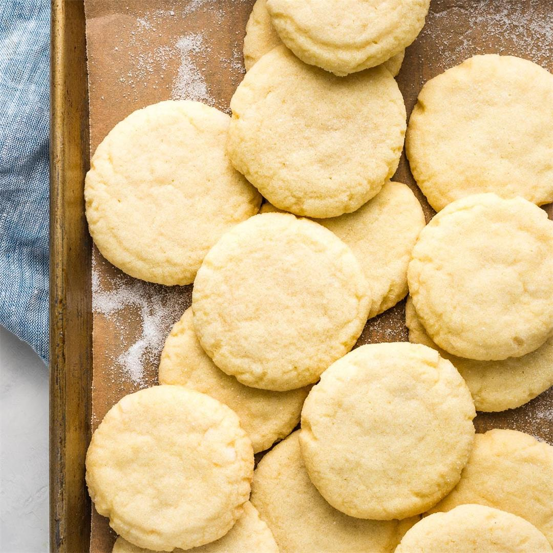 Melt-in-your-mouth Amish Sugar Cookies