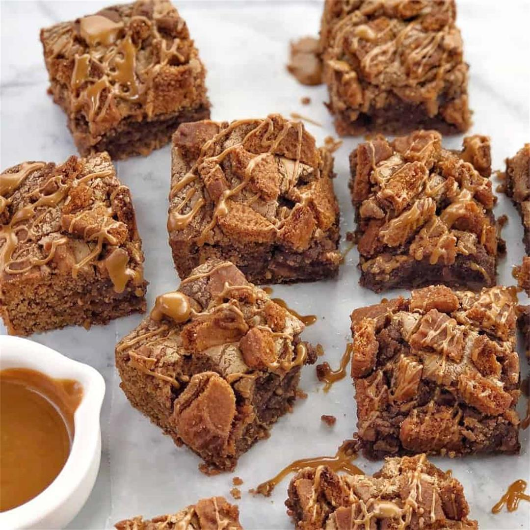 Biscoff Brownies · Chef Not Required...