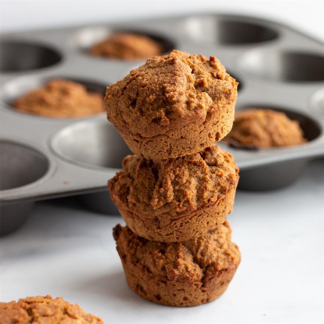 Whole Wheat Muffins (Vegan)