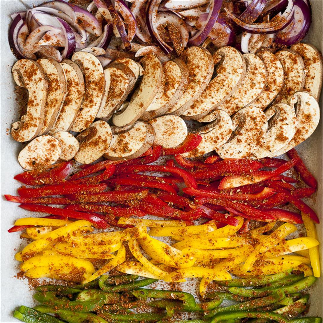 Fajitas Veggies (The Easiest Way to Make Them)