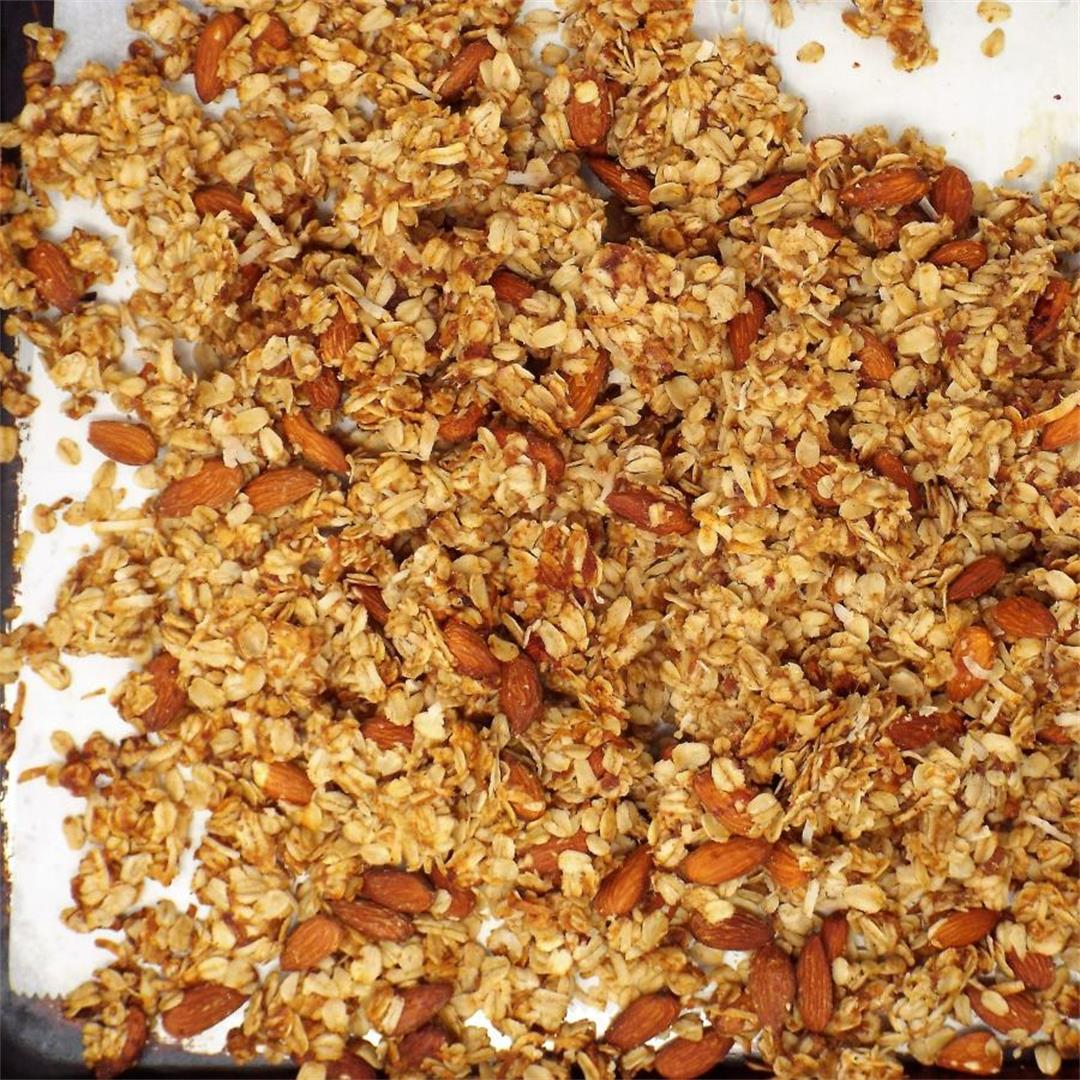 Healthy Almond Date Granola