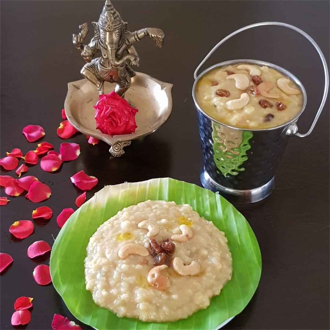 Akkaravadisal/Akkara Adisal / Sweet Pongal %| %PLATE TO PALATE