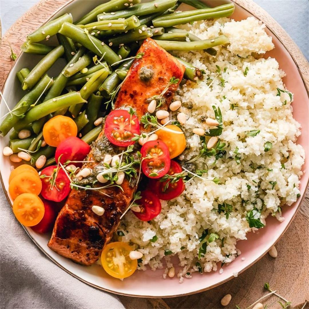A Healthy Quinoa Tabouli