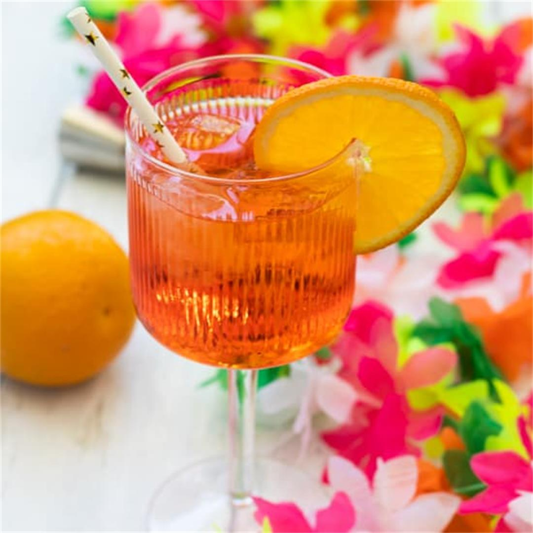 3-2-1 Aperol Spritz Cocktail