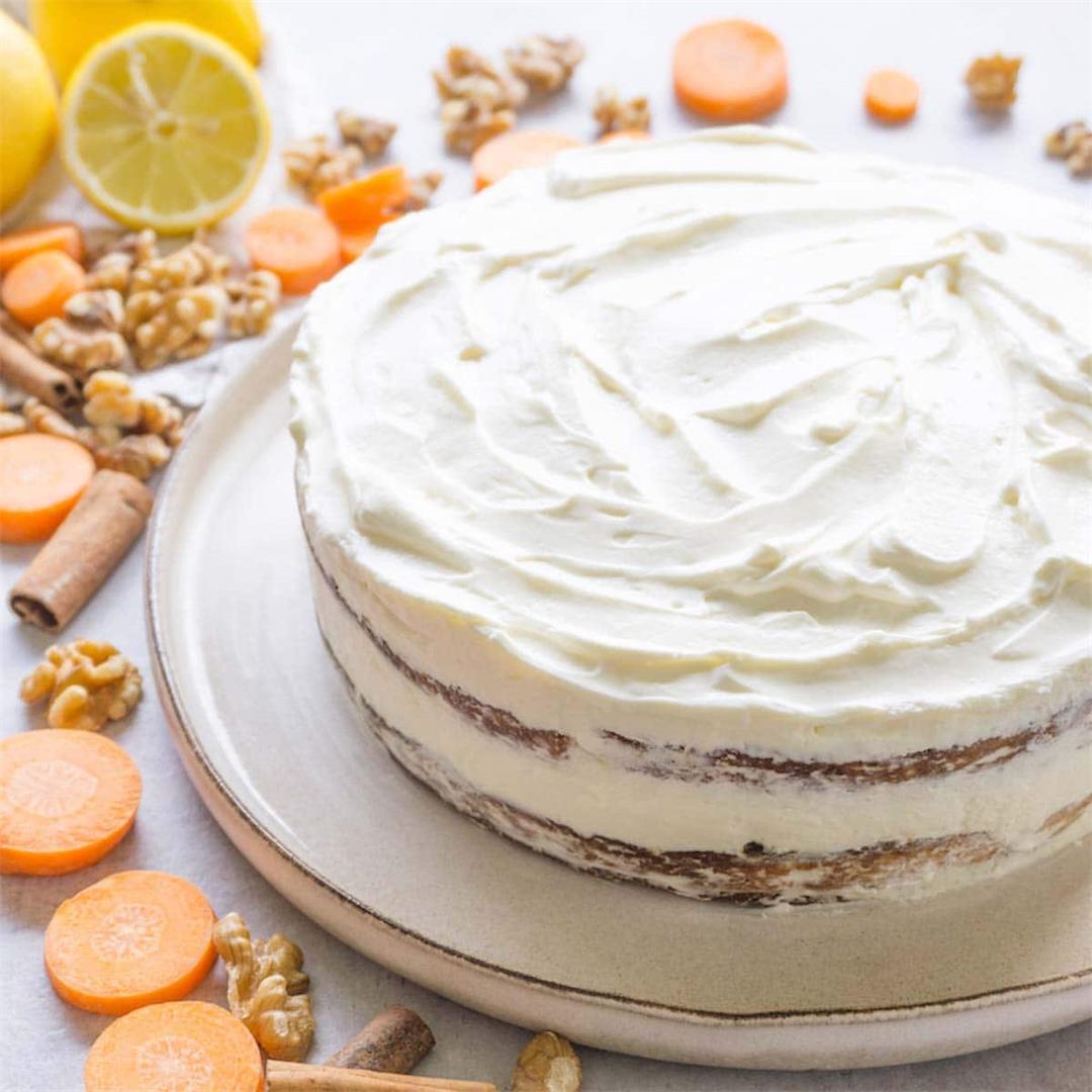 Gluten-free keto carrot cake recipe