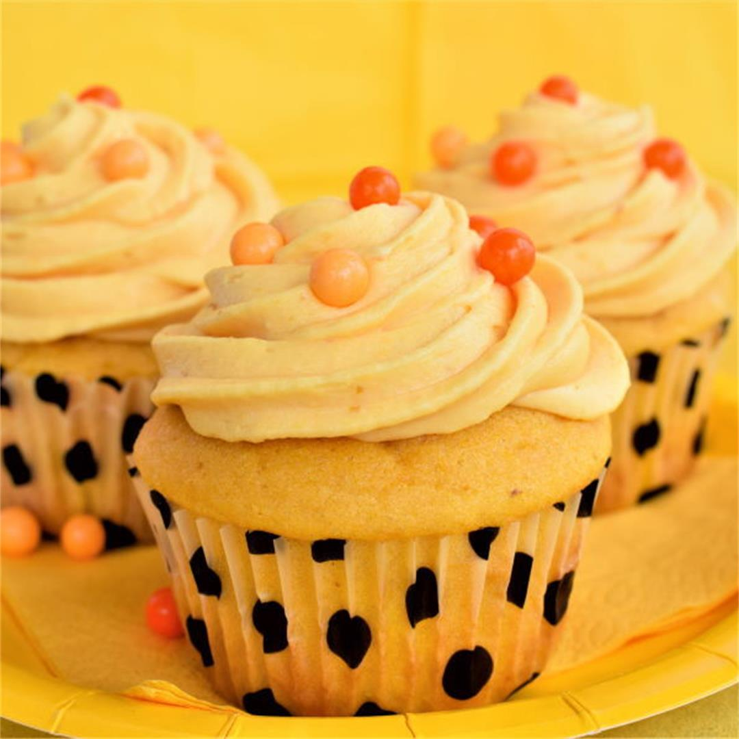 Super Moist Pumpkin Cupcakes
