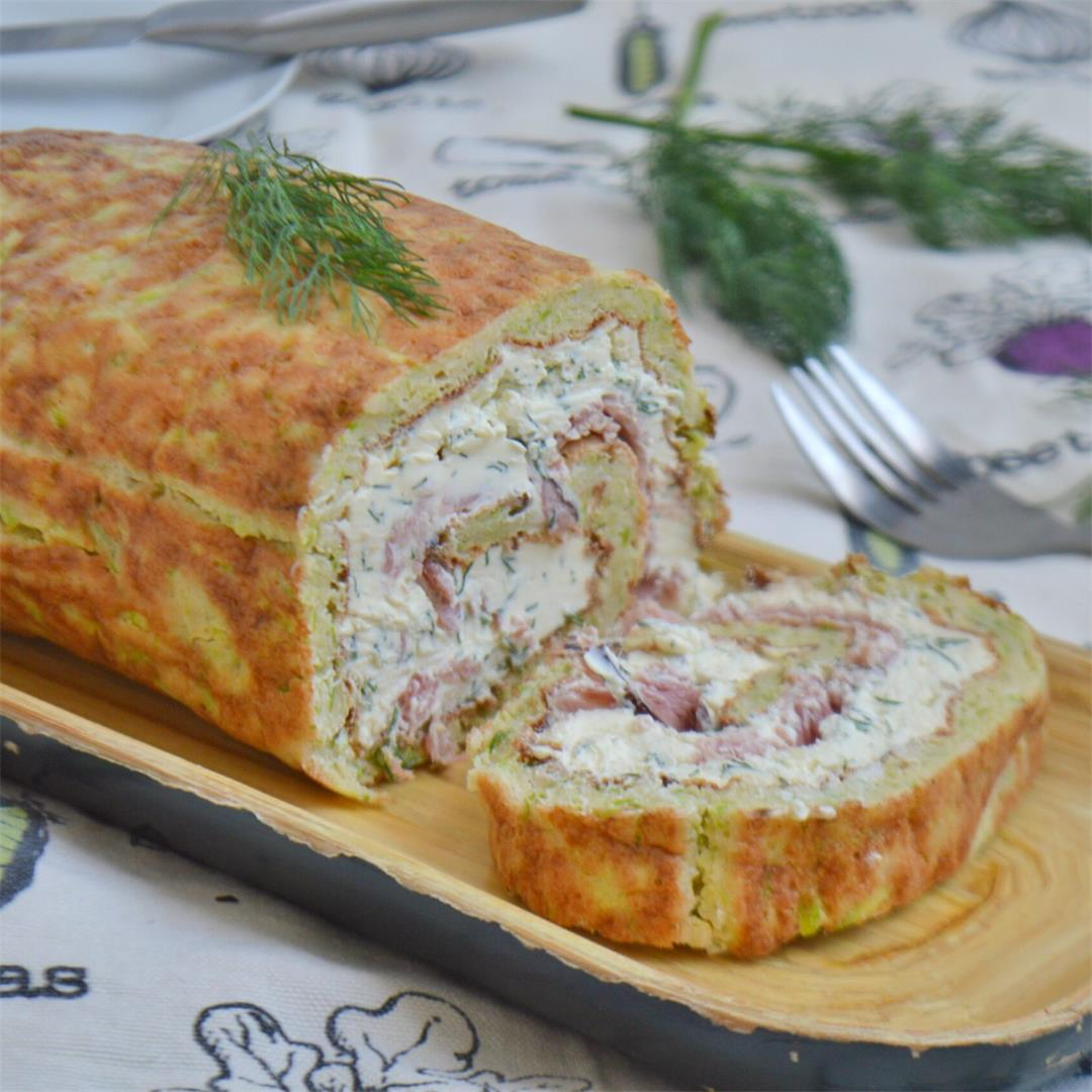 Ham & Cheese Zucchini Roulade — Tasty Food for Busy Mums Season