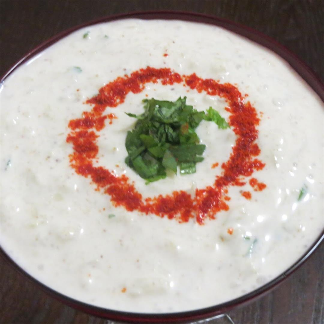 Lauki Raita or Bottle Gourd Raita Recipe