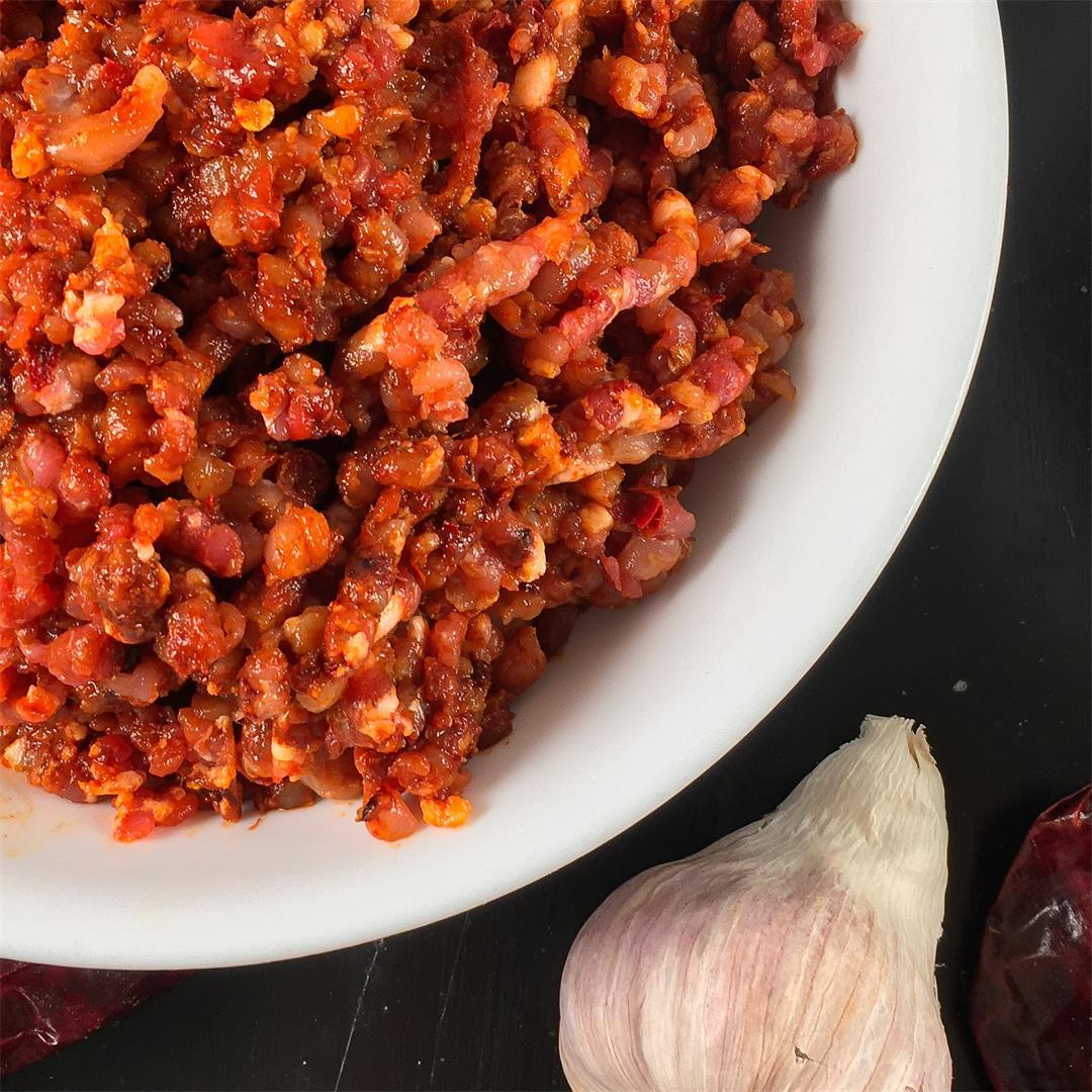 Chorizo Recipe (Fresh, Homemade Mexican Chorizo Sausage!)