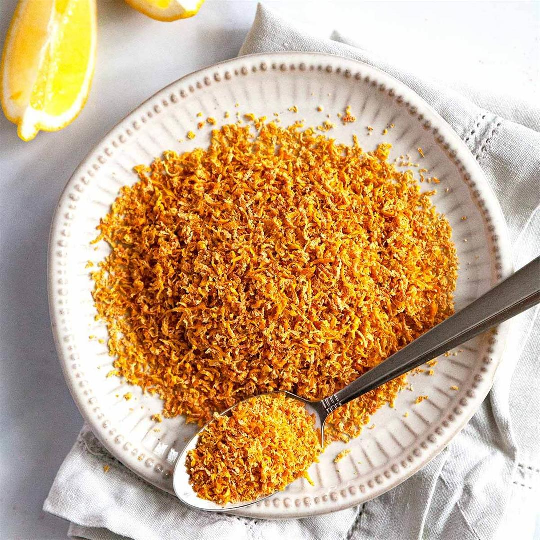 How to Make and Use Dried Lemon Peel