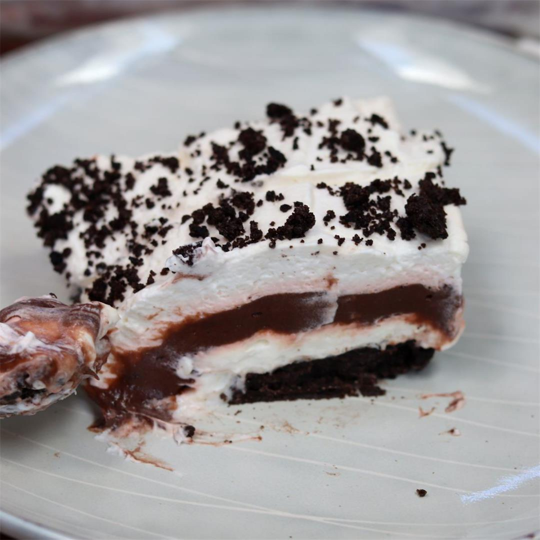 No Bake Oreo Layered Dessert (Family Favorite!)