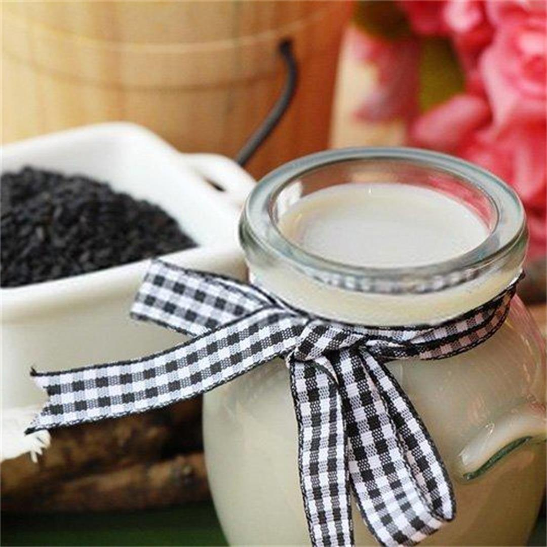 Black Sesame Milk Recipes