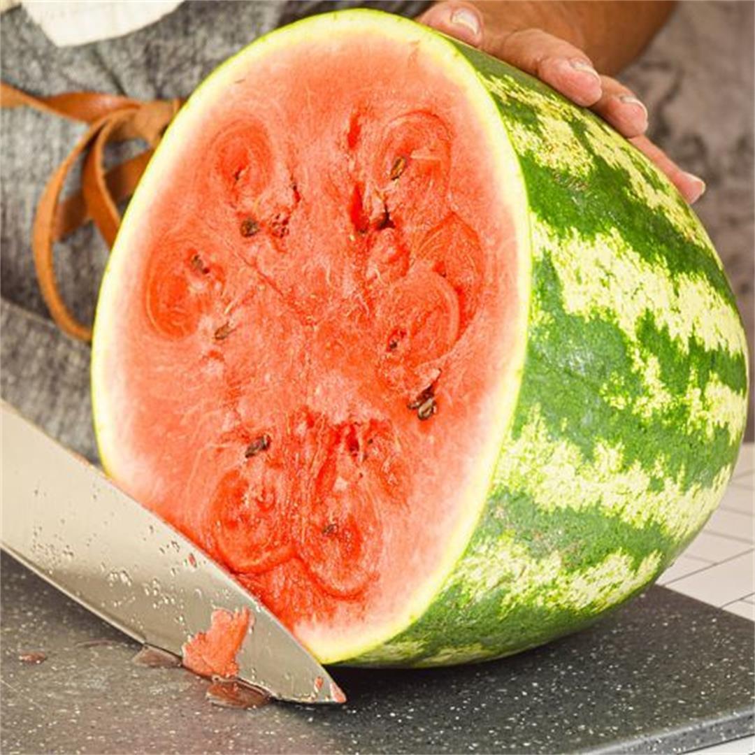 How to Slice Watermelon 3 Ways: Triangles, Cubes & Sticks